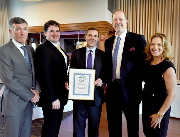 BRYAN EATON/Staff Photo. Finneran & NIcholson, P.C. won as Best Law Practice.