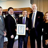 BRYAN EATON/Staff Photo. Finneran & NIcholson, P.C. won as Best Law Practice.