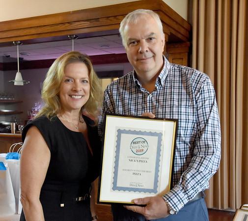 BRYAN EATON/Staff Photo. Nick's Pizza won as Best Pizza.