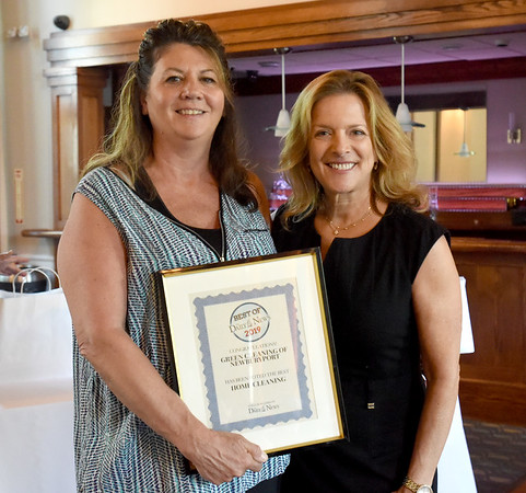 BRYAN EATON/Staff Photo. Green Cleaning of Newburyport won as Best Home Cleaning.