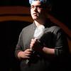JIM VAIKNORAS/Staff photo <br /> Matt Mason as Horton in Amesbury Children's Theatre production of Seussical Jr.