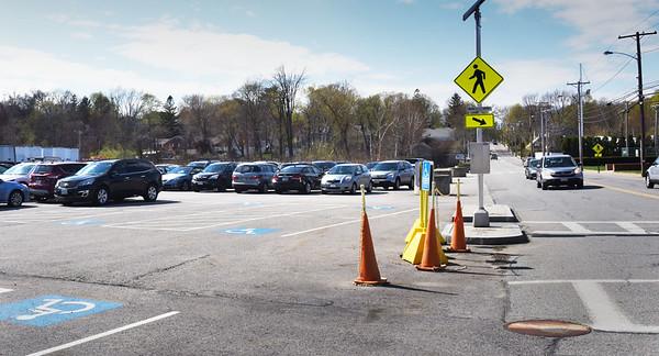 BRYAN EATON/Staff photo. The parking lot across the street from Mersen on Merrimac Street in Newburyport.