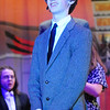 "JIM VAIKNORAS photo  Christian Kjaer as Cosmo Brown, in the Nock Middle School production of ""Singing in The Rain""."