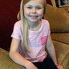 BRYAN EATON/Staff photo. Norah Primack, 8, of Amesbury has gotten a part in a movie.