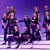 "JIM VAIKNORAS photo  The ensemble perform the musical number ""Gotta Dance"" in the Nock Middle School production of ""Singing in The Rain""."