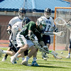 JIM VAIKNORAS photo  Pentucket's Ben Gardner digs for the ball during their game  at Triton Friday.