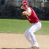 JIM VAIKNORAS/staff photo Newburyport's Tom Furlong makes a play during the Clippers game against Lynn Classical at Pettingell Park in Newburyport Saturday.