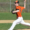 BRYAN EATON/Staff photo. Ipswich pitcher Jake Kivekas.