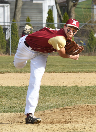 BRYAN EATON/Staff photo. Newburyport pitcher Casey McLaren.