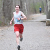 JIM VAIKNORAS/Staff photo Dan 'Flynn wins the  Tortoise and Hare 10K at the Rail Trail in Salisbury Saturday.