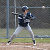 JIM VAIKNORAS/Staff photo JIM VAIKNORAS/Staff photo  Triton's Marc Wood lays down a sac bunt against Masconomet during their game at Masconomet Tuesday.