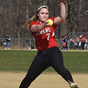 BRYAN EATON/Staff photo. Amesbury pitcher #7.