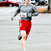 JIM VAIKNORAS/Staff photo Dan O'Flynn wins the Spring into Spring 5K in Rowley Saturday morning.