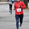 JIM VAIKNORAS/Staff photo Ashley Cook is the winner of the Spring into Spring 5K in Rowley Saturday.