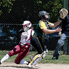 JIM VAIKNORAS/Staff photo Newburyport's Michaela Vincent scores against North Reading Friday at Pioneer park in Newburyport.