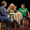 "JIM VAIKNORAS/Staff photo Julie McConchie as Kara, Sherry Bonder as Sandra, and Adair Rowland as Josey in ""Round Table"" written by Camille Garro and directed by Astrid Lorentzson. part of Collaboration 4 performances at The Actor's Studio."
