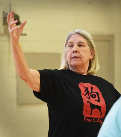 BRYAN EATON/Staff photo. Tai Chi instructor Barbara Tindall.