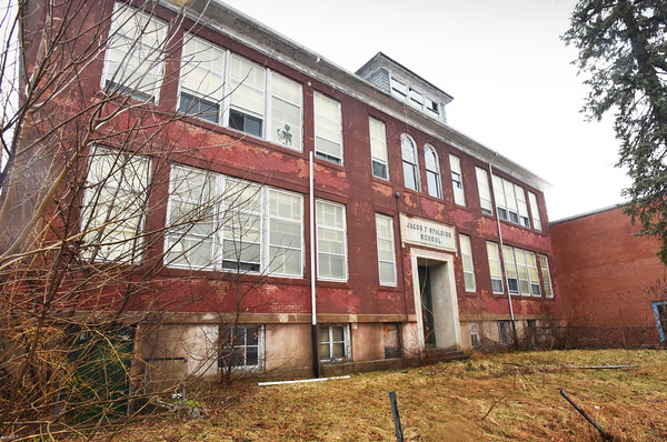 BRYAN EATON/Staff photo. The Jacob F. Spalding School, which onced housed grades one through eight, will become housing through the Newburyport YWCA.