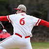 JIM VAIKNORAS/Staff photo Masconomet pitcher David Hunter against Triton at Masconomet Tuesday.