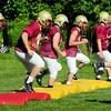 BRYAN EATON/Staff Photo. Newburyport High football team goes through drills.