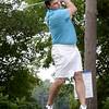 Bryan Eaton/Staff photo. Gary Greco tees off on the sixth hole.
