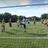 BRYAN EATON/Staff photo. Pentucket High soccer team practices.