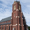 JIM VAIKNORAS/Staff photo The Immaculate Conception Church on Green Street in Newburyport.