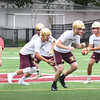 BRYAN EATON/Staff photo. Newburyport High School's football team started practice on Friday.
