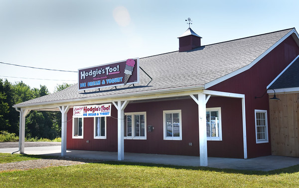 BRYAN EATON/Staff photo. Another Hodgie's Ice Cream is coming to the former farm stand on Low Street in Newburyport across from the entrance to Port Plaza.