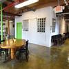 BRYAN EATON/Staff photo. A common area at 14 Cedar Street Studios.
