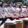 JIM VAIKNORAS/Staff photo    The Genki Spark group perform at the Natsu Matsuri or Summer festival at Hana Japan in Newburyport. Along with Japanese music , the event included dance, games, gifts and a variety of Japanese food.