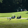 BRYAN EATON/Staff photo. The weather was perfect for the Yankee Homecoming Golf Tournament at Old Newbury Country Club.