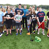 BRYAN EATON/Staff photo. Special education students at Triton High School and thier teachers have built a miniature golf course on the edge of the athletic fields.