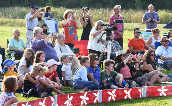 BRYAN EATON/Staff photo. Youngsters as well as adults enjoyed the show.