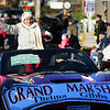 JIM VAIKNORAS/Staff photo  Grand Marshal Thelma Gibbs waves to the crowd during the  Annual Merrimac Santa Parade.