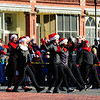 JIM VAIKNORAS/Staff photo Dancers from the Georgetown Groveland Dance Studio perform in the Annual Merrimac Santa Parade.