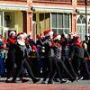 JIM VAIKNORAS/Staff photo Dancers from the Georgetown Groveland Dance Studio perform in the Annual Merrimac Santa Parade.