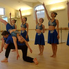 JIM VAIKNORAS/Staff photo Dancers from the Seacoast Civic Dance Group, an arm of the NH Academy of Performing Arts,perform to John Lennon's Imagine. The group was invited to perform in Hawaii, at the 75th Anniversary of the attack on Pearl Harbor.