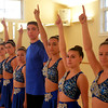 JIM VAIKNORAS/Staff photo Michaela O'Leary, Zoe Kerens,  Madison Oullett, Ricky Smith, Abby Joyce, Sarina Wilson,and  Alli Eawes, they are part of the Seacoast Civic Dance Group, an arm of the NH Academy of Performing Arts, invited to perform in Hawaii, at the 75th Anniversary of the attack on Pearl Harbor.