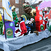 "BRYAN EATON/Staff photo. The Amesbury Lions Club float ""The Grinch Who Stole Christmas."""