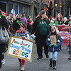 BRYAN EATON/Staff photo. Amesbury Daisy Troop 82305 were dressed as reindeer in the Santa's Parade.