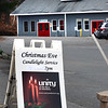 BRYAN EATON/Staff photo. Unity on the River Church in Amesbury will have a candlelight service on Christmas Eve.