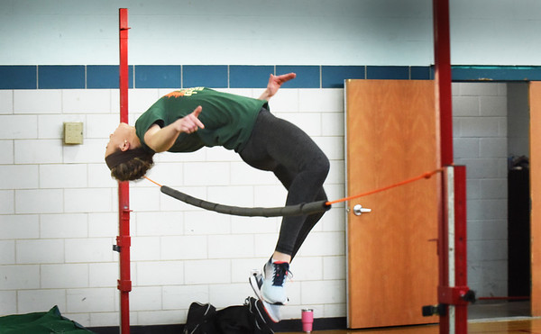 BRYAN EATON/Staff photo. Pentucket's Madi Krohto is one of the best track athletes in the state.
