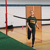 BRYAN EATON/Staff photo. Madi Krohto in practice at Pentucket High School.