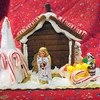 Newburyport: Ruth Whitney's gingerbread creation. Bryan Eaton/Staff Photo