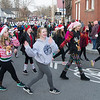 JIM VAIKNORAS/Staff photo Students from the Groveland Dance Academy dance their way along Santa at the Merrimac Santa Parade Sunday in Merrimac.