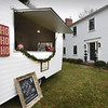 BRYAN EATON/Staff photo. Pearl, a vintage caravan camper will be a pop-up hot chocolate stand for those on the house tour.