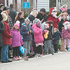 JIM VAIKNORAS/Staff photo The crowd waits for Santa at the Merrimac Santa Parade Sunday in Merrimac.