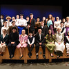 BRYAN EATON/Staff photo. The cast of Mary Poppins presented by the Amesbury High School Performing Arts which opens tomorrow night.
