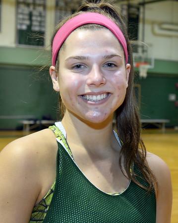 CARL RUSSO/staff photo. Pentucket 's 2017-2018 girls basketball star, Angelina Yaccubacci. 12/14/2017